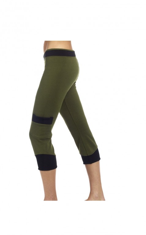 Cargo Capri Sweat Pant