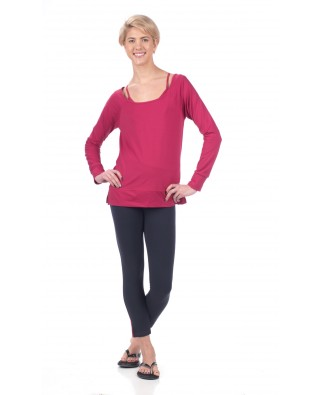 Airy Back Long Sleeve Tee